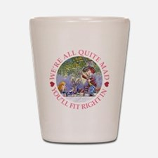 MAD HATTER'S TEA PARTY Shot Glass