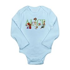 ALICE AND FRIENDS Long Sleeve Infant Bodysuit