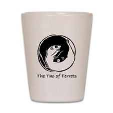 Tao of Ferrets Shot Glass