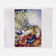 ALICE LOSES CONTROL Throw Blanket