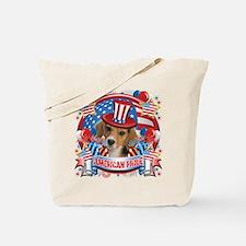 American Pride Beagle Tote Bag