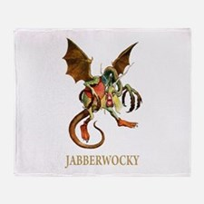 JABBERWOCKY Throw Blanket