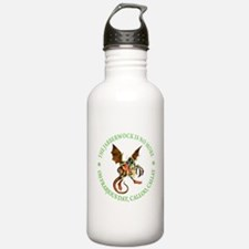 THE JABBERWOCK IS NO MORE Water Bottle