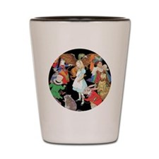 ALICE AND FRIENDS Shot Glass