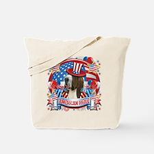 American Pride Bassett Hound Tote Bag