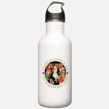 PEOPLE COME & GO Water Bottle