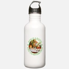 MAD HATTER'S RIDDLE Water Bottle