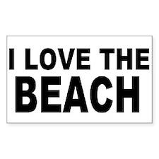 Cute I love the beach Decal