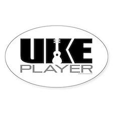 Uke Player Decal