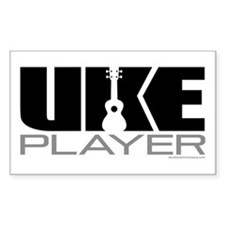 Uke Player Decal