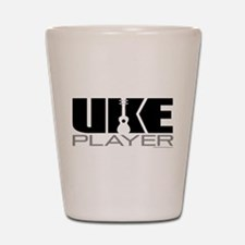 Uke Player Shot Glass
