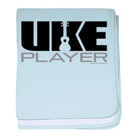 Uke Player baby blanket