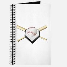 Baseball Home Plate Journal