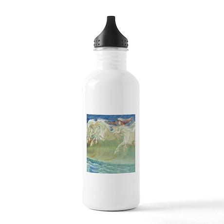 NEPTUNE'S HORSES Stainless Water Bottle 1.0L