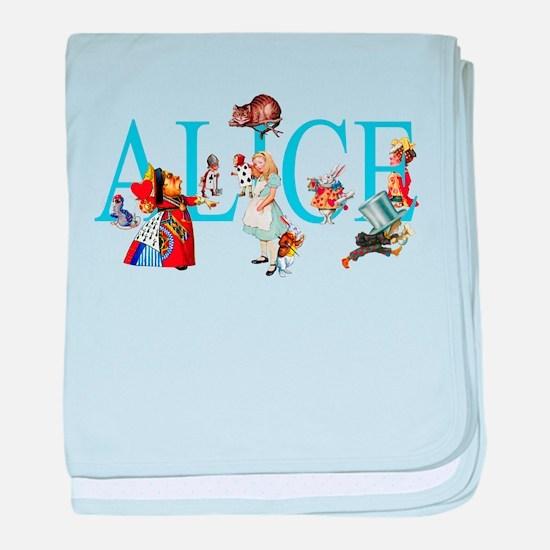 ALICE & FRIENDS baby blanket