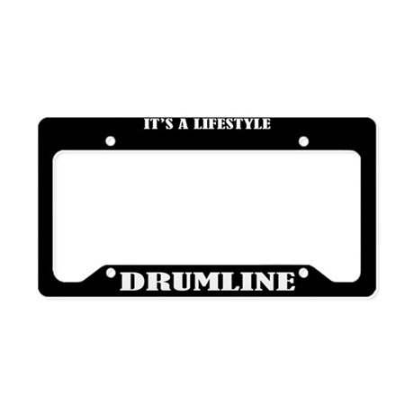 Drumline Music Lifestyle License Plate Holder