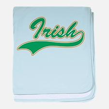 IRISH LOGO baby blanket