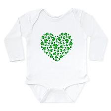 MY IRISH HEART Long Sleeve Infant Bodysuit
