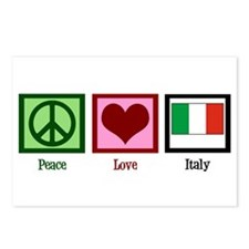 Peace Love Italy Postcards (Package of 8)