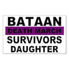 Bataan Death March Survivors Daughter | Decal