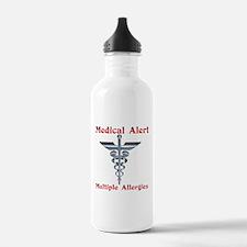 Medical Alert Multiple Drug A Sports Water Bottle