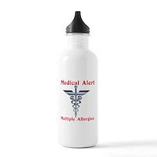 Medical Alert Multiple Drug A Water Bottle