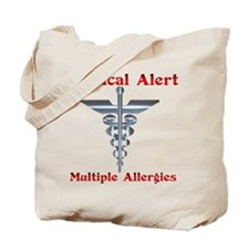 Medical Alert Multiple Drug A Tote Bag