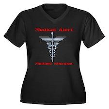 Medical Alert Multiple Drug A Women's Plus Size V-