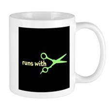 Runs with Scissors Small Mug