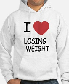 i heart losing weight Hoodie