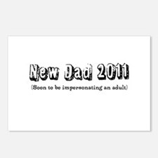 Funny Dad - Impersonating an Postcards (Package of