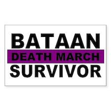 Bataan Death March Survivor   Decal