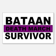 Bataan Death March Survivor | Decal