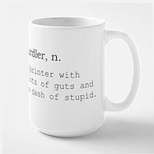 Hurdler Large Mug