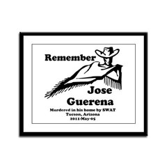 Remember Jose Framed Panel Print