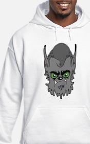 Grey Wolfman Hoodie
