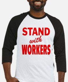Stand with Workers: Baseball Jersey