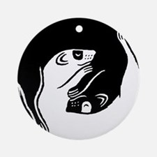 Ferrets Ornament (Round)