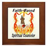 Spiritual Counselor Framed Tile