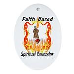 Spiritual Counselor Oval Ornament