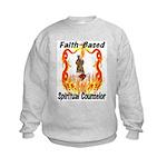 Spiritual Counselor Kids Sweatshirt