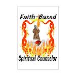 Spiritual Counselor Mini Poster Print