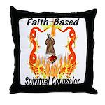 Spiritual Counselor Throw Pillow