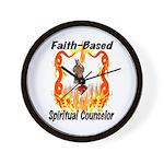 Spiritual Counselor Wall Clock