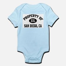 Property of San Diego Infant Creeper