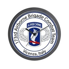 173rd Airborne Wall Clock