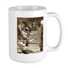 Blowing Glass Tubes Mug