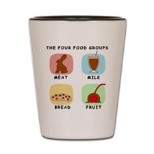 Food Groups Shot Glass