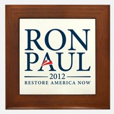 Ron Paul 2012 Framed Tile