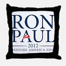 Ron Paul 2012 Throw Pillow